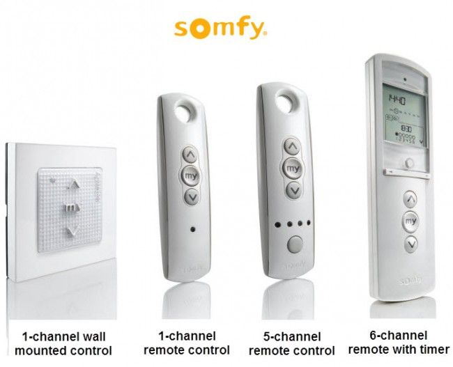 23 best Somfy Motors and Controls images on Pinterest ...