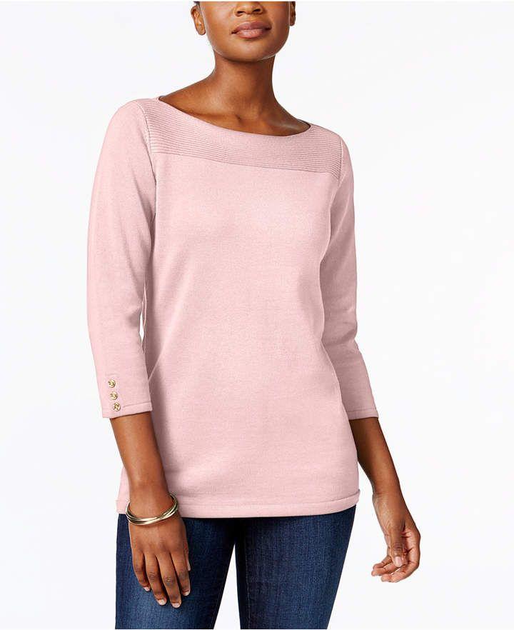 petite-cotton-sweater