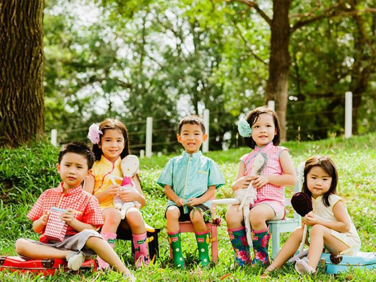 Great Chinese-inspired clothes for children from A, Apple Pie from Singapore.