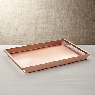 Orb Copper Tray
