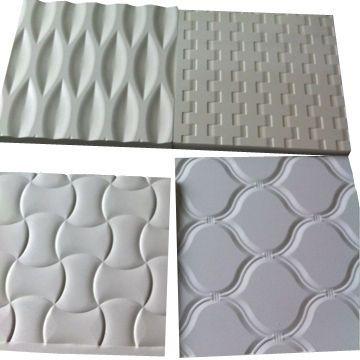 Embossed PVC foam board