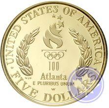 USA-1996-10 DOLLARS-ATLANTA OLYMPIC GAMES-PROOF-