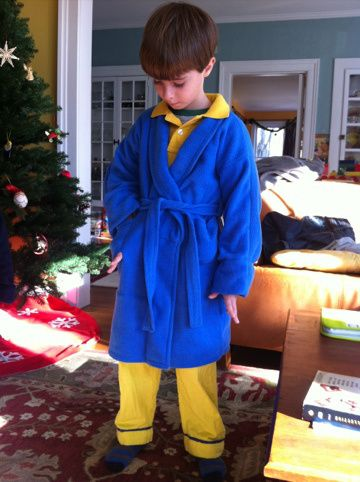 Officially the costume for this year. the Hero Boy from the Polar Express. Buddy will be beside himself!