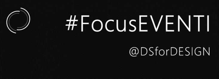 #FocusEventi   GENNAIO 2016 La selezione di #DSforDESIGN sugli eventi #Design & #Digital a Milano.