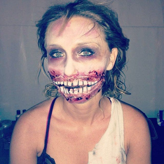 Halloween Makeup Idea  #Halloween  #Halloween2016   #HalloweenFun   #HalloweenHoliday  #Darkness  #Evil  #Fear   #Candies    #Party  #HalloweenParty  #SayingsAboutHalloween  #HalloweenCelebrations  #HalloweenHoliday  #HalloweenVisits