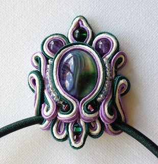French Mermaid Collection by Suzanne S. Suber: Soutache Jewelry
