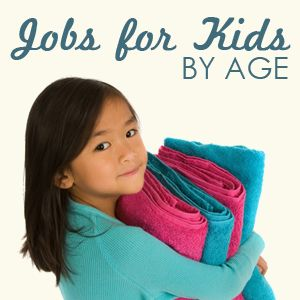 Jobs for kids by age