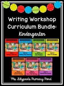 Writing Folder Tools for K-2 - Learning at the Primary Pond