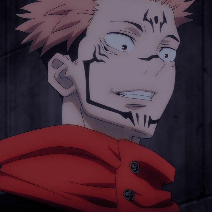 Sukuna Icon Jujutsu Anime Character Design