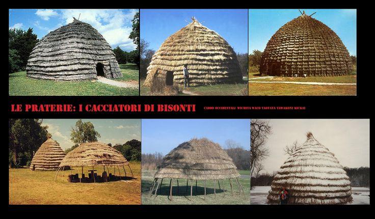 I Wichita l Waco, Taovaya, Tawakoni, e Kichai erano un popolo semisedentario di cacciatori e agricoltori, vivevano in villaggi fissi costituiti da grandi capanne a forma di cupola coperte di erba e utilizzavano i tepee quando nomadizzavano a caccia di bisonti.