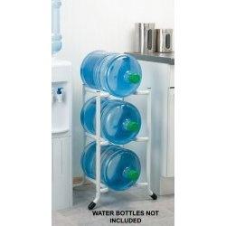 5 gallon water bottle storage
