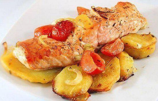 Рецепты красной рыбы с картошкой, секреты выбора ингредиентов и