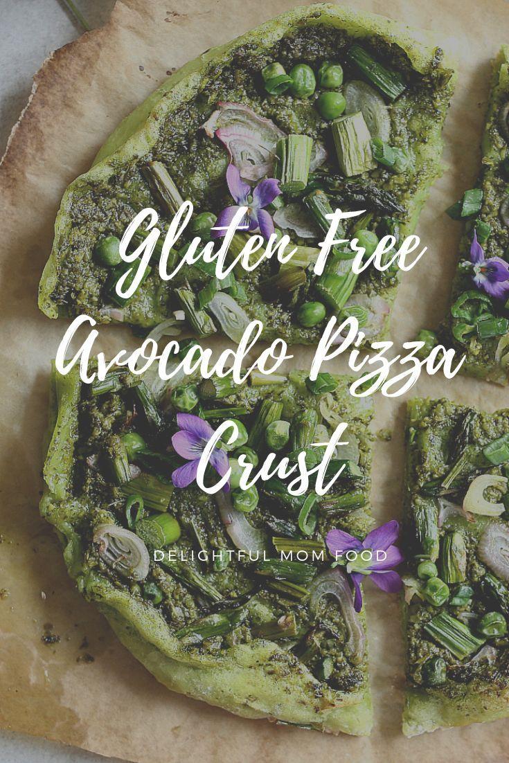 Avocado Crust Pesto Pizza Vegan Grain Free Recipe Grain Free Recipe For Mom Organic Meat