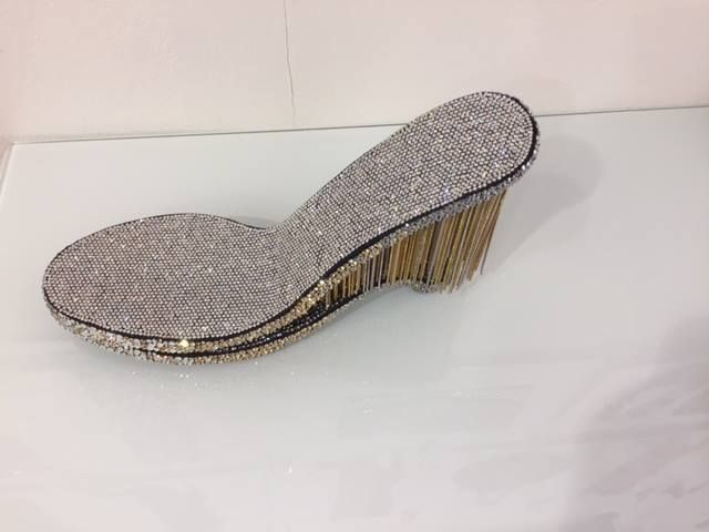 #moda #fashion #decorations #lineapelle #strass #shoes