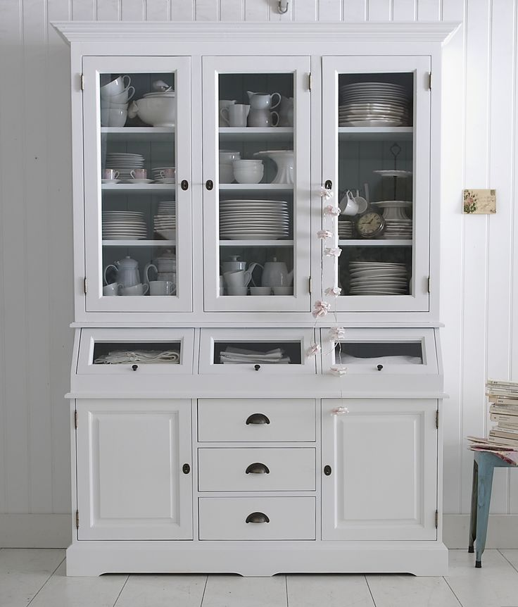 White Kitchen Dresser 10 best vitrineskabe images on pinterest | kitchen dresser