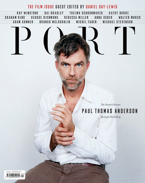 Port  #editorial #layout #magazine #cover
