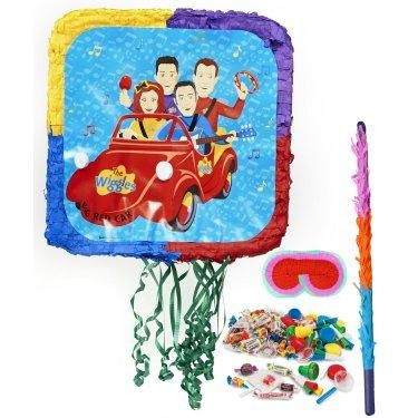 Every birthday party needs a piñata! Check out this super cool Wiggles Piñata Kit! #Birthday #Party #Wiggles #Piñata