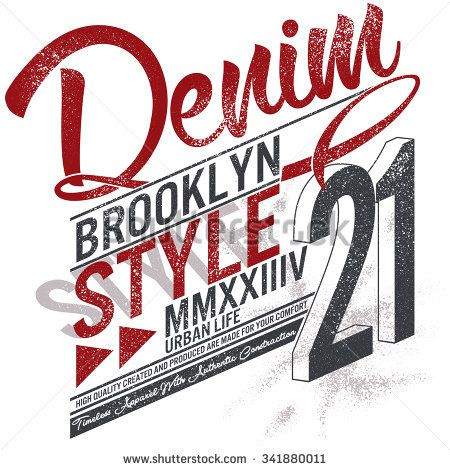 t-shirt graphics, about new york, street division, brooklyn style denim
