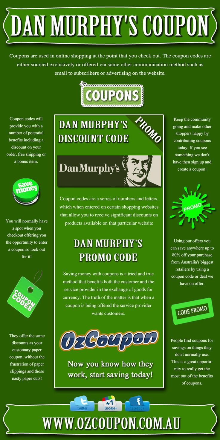 Check this link http://www.ozcoupon.com.au/store/dan-murphys/ here for more information on Dan Murphy's Coupon.