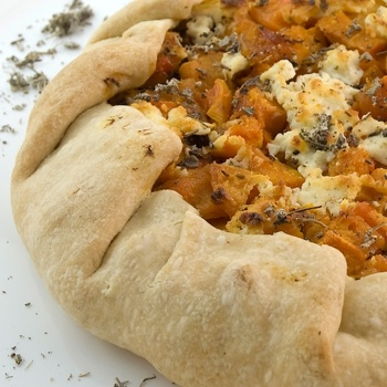 Butternut Squash and Goat Cheese Galette | Recipes | Pinterest