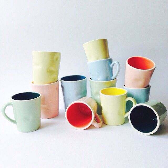 Full collection of mugs  instagram: paper.smile