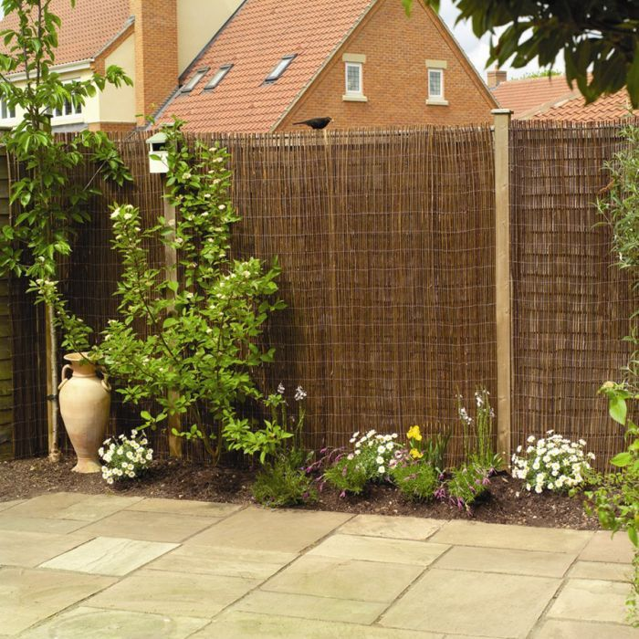 Willow Natural Fencing Screening Rolls 4 0m X 1 8m 13ft 1in X 6ft