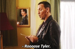 Nine GIF:  The first of many times he says her name in that unique way of his. [gif]