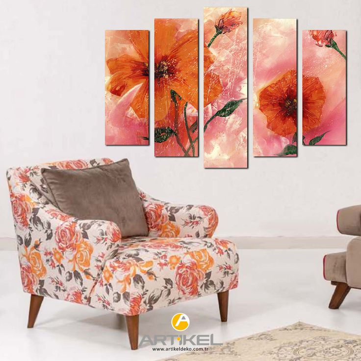 """""""Gelincik"""" 95x70 cm kanvas tablo modelimiz ile evinizde hem şık hem de sıcak bir ortam yaratmanız mümkün..  #yeniürün #kanvastablo #art #tasarım"""