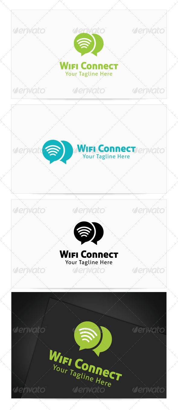 Wifi Connect Logo #graphicriver