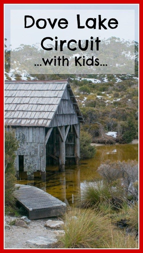 Wandering if you do the Dove Lake Circuit in Tasmania with kids?  You sure can!  Click the image above for what to expect on the Dove Lake Circuit with kids!  #tasmania