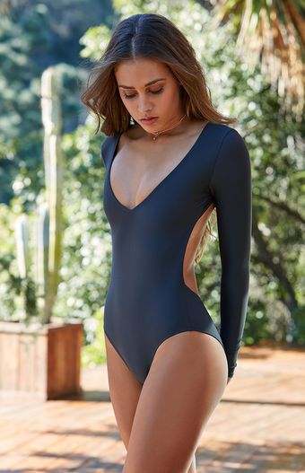 Catch A Wave In A Fashionable And Functional Swim Bodysuit