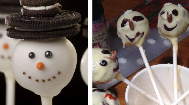 These cake pops that look like they're suffering: | 19 Christmas Baking Fails Guaranteed To Make You Laugh