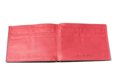 dan wallet - black / red