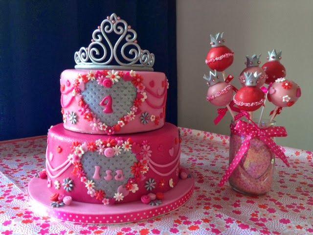 Prinsessen taart over the top