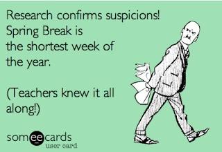 Ha A Teacher Funny Spring Break Life Teacher Humor Teacher