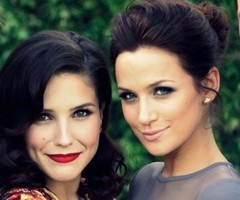 one tree hill faves. classy make-up.