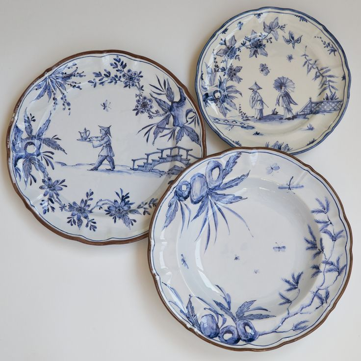 Piatto Milano Blu by Laboratorio Paravicini - Home Décor and Interior Design ideas from Italy's finest artisans | artemest.com