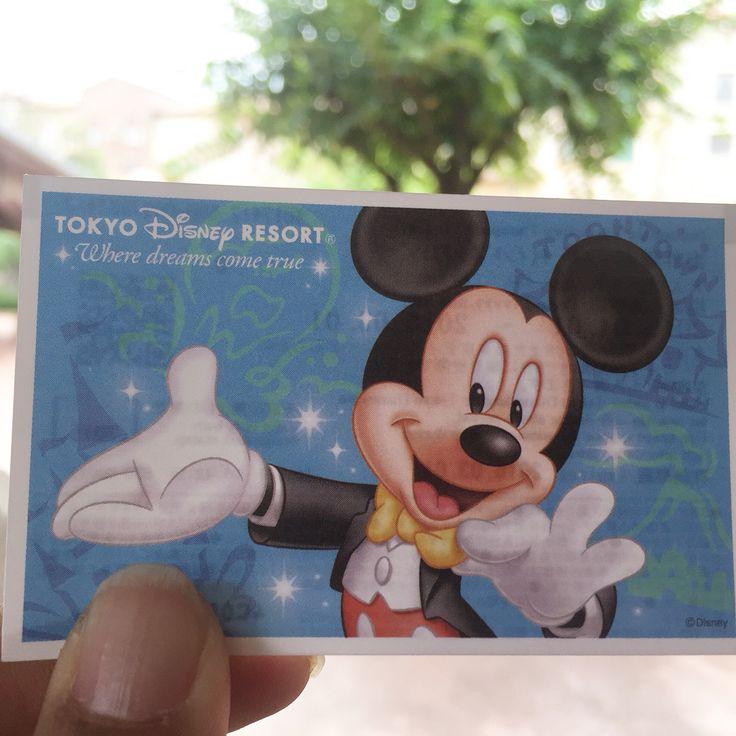 Disneyland Tokyo Japan Ticket