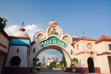 Parque Plaza Sésamo.