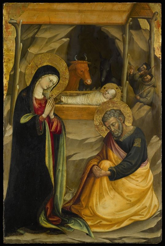 The Nativity, Bicci di Lorenzo (Florence 1373 - 1452)