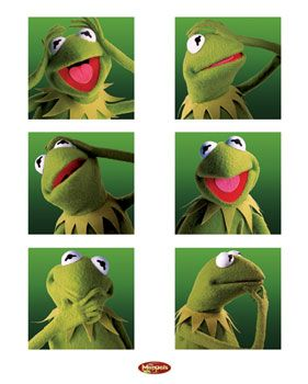 But of course, Kermit the Frog!