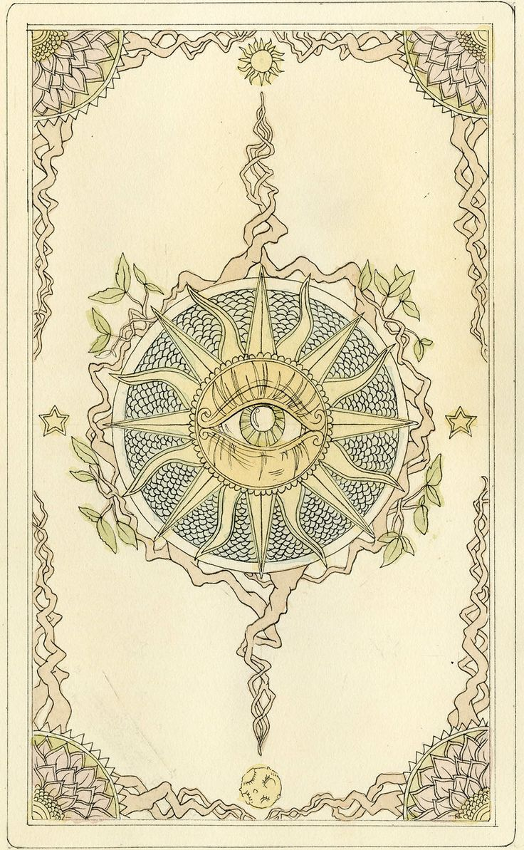 Tarot Card Deck Backs Design