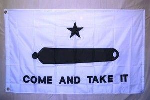 Gonzalez Come and Take It Cannon Flag