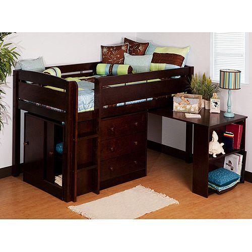 17 best images about bedroom on pinterest boys loft beds. Black Bedroom Furniture Sets. Home Design Ideas