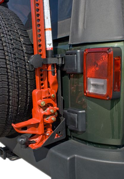 Jeep Wrangler Jk Hi Lift Style Jack Mounting Bracket 2007