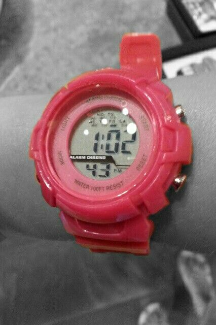 This is my watch, edited with colortouch