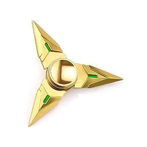 Cheap price OW Overwatch 1pc Alloy Golden Finger Spinner Fidget Hand Spinner Fidget Finger Relieve Stress Toy on sale