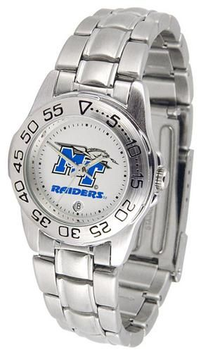 Middle Tennessee State MTSU Ladies Stainless Steel Wristwatch