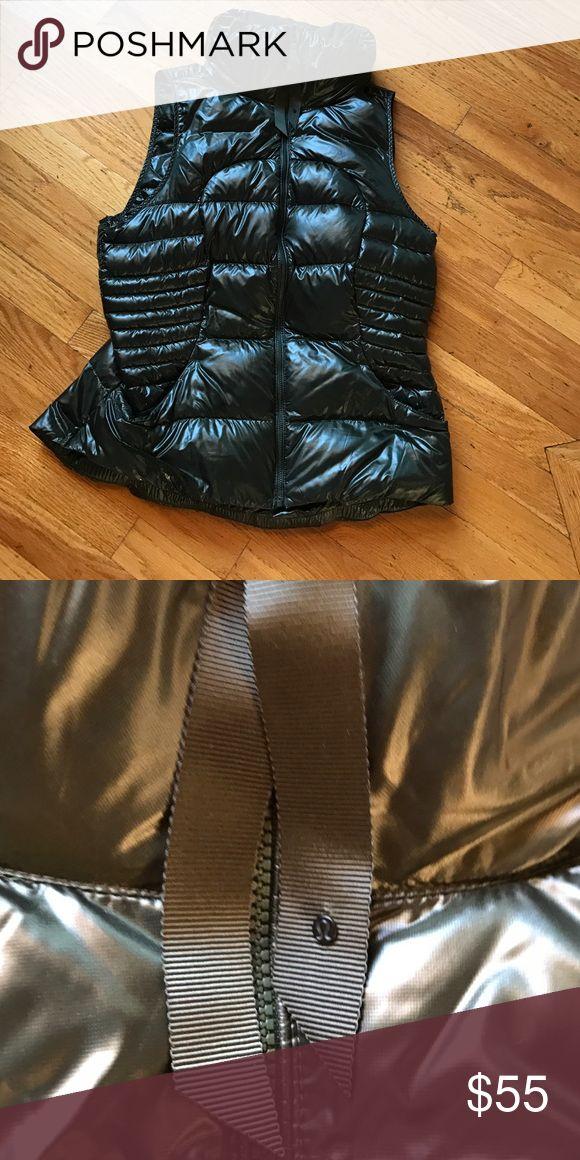 Lululemon vest! Dark green vest from lululemon. Size 12 in excellent condition! lululemon athletica Jackets & Coats Vests