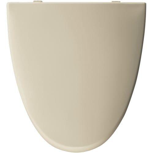Bemis EL270 Elongated Plastic Toilet Seat (Shell (White))